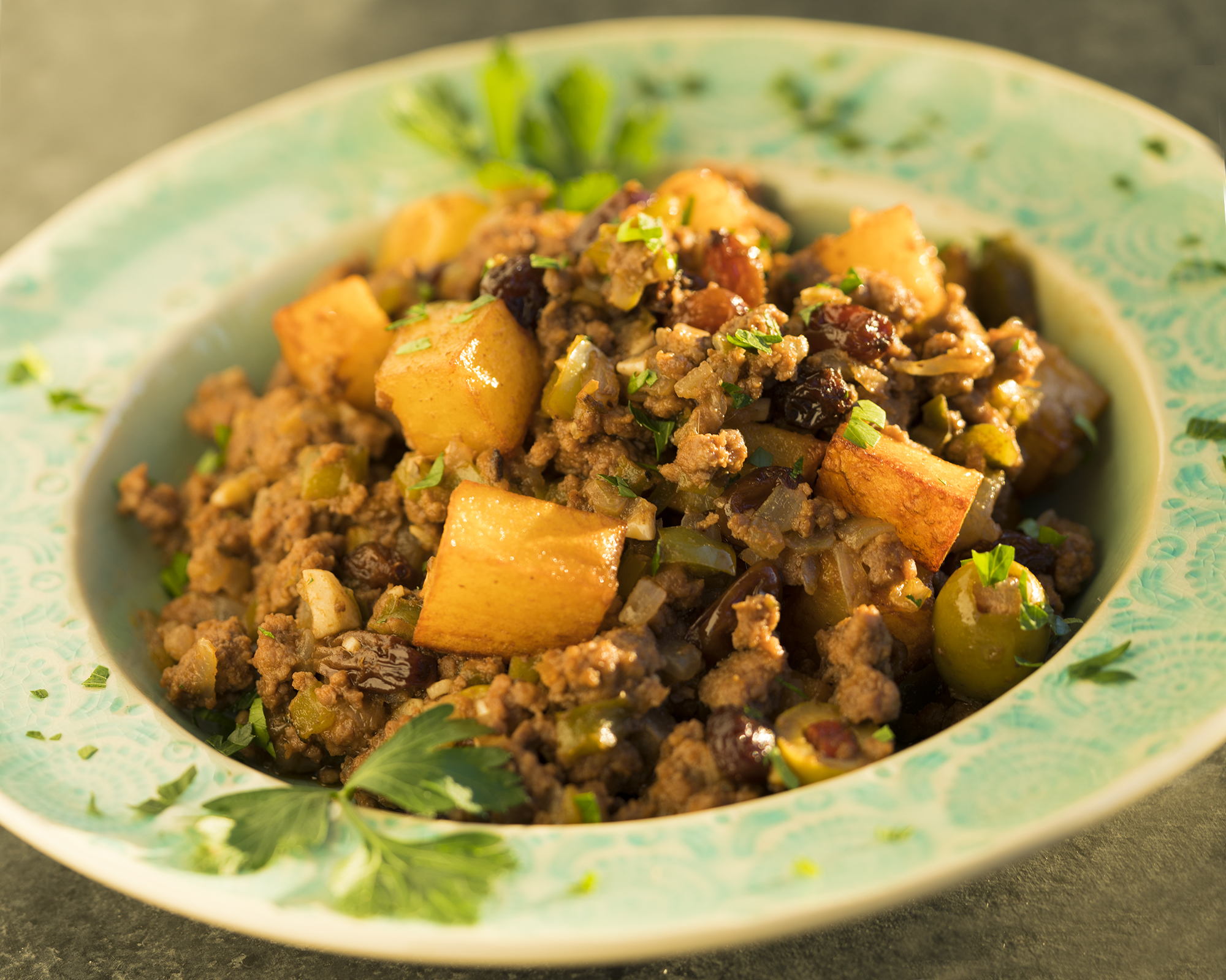 Cuban Beef Picadillo With Potatoes Recipe Sweet And Sabroso