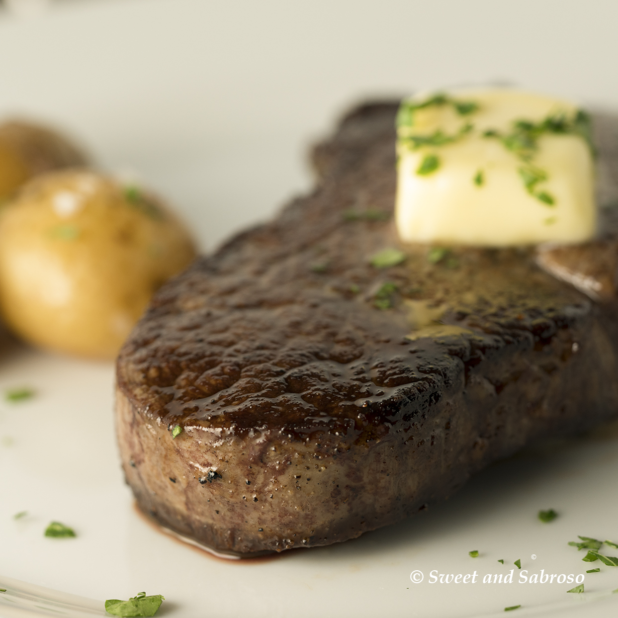 Perfect Pan Seared Restaurant Style Filet Mignon Steaks for Two