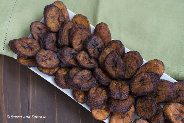 Cuban Platanos Maduros Fritos Sweet Fried Plantains Difference Between Bananas And Plantains Green Vs Black Plantains